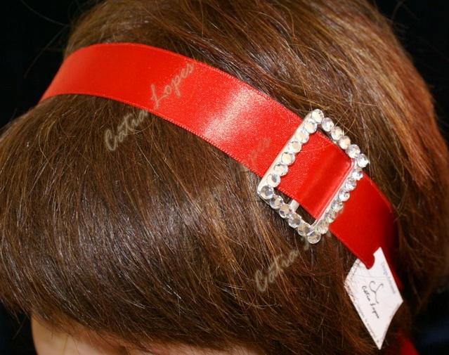 fita cabelo3 - VERMELHA