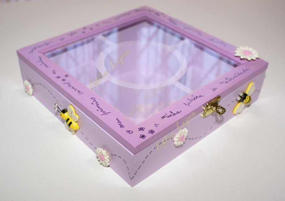 (Acessórios de Noivas) = caixa baby 10 - frente