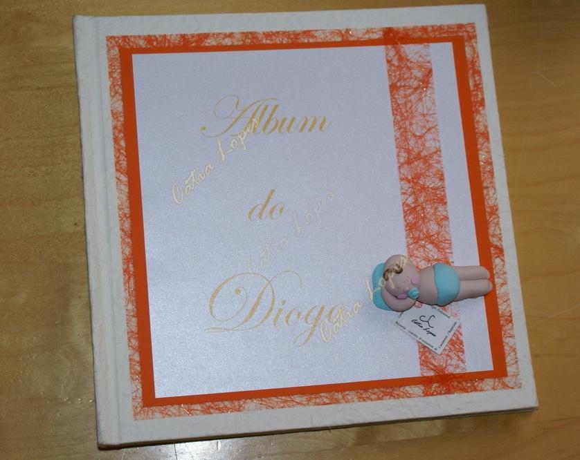 (Acessórios de Noivas) = livro bebé - modelo 7