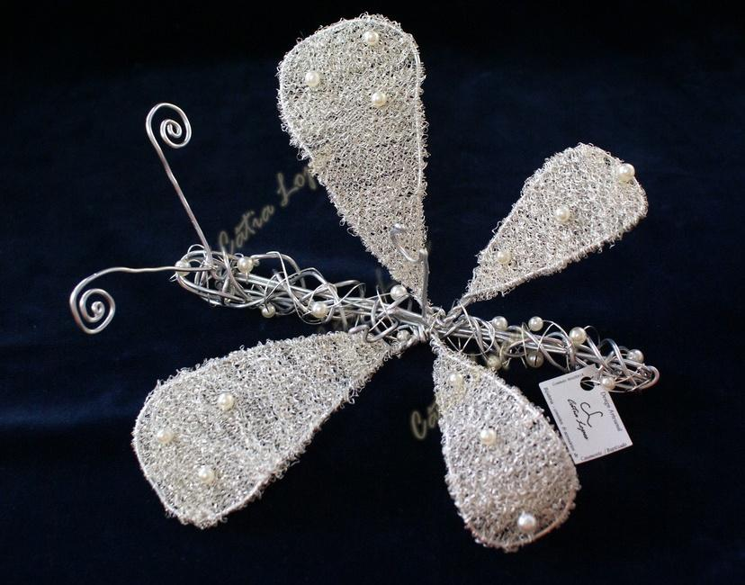 (Acessórios de Noivas) = PA - borboleta arame