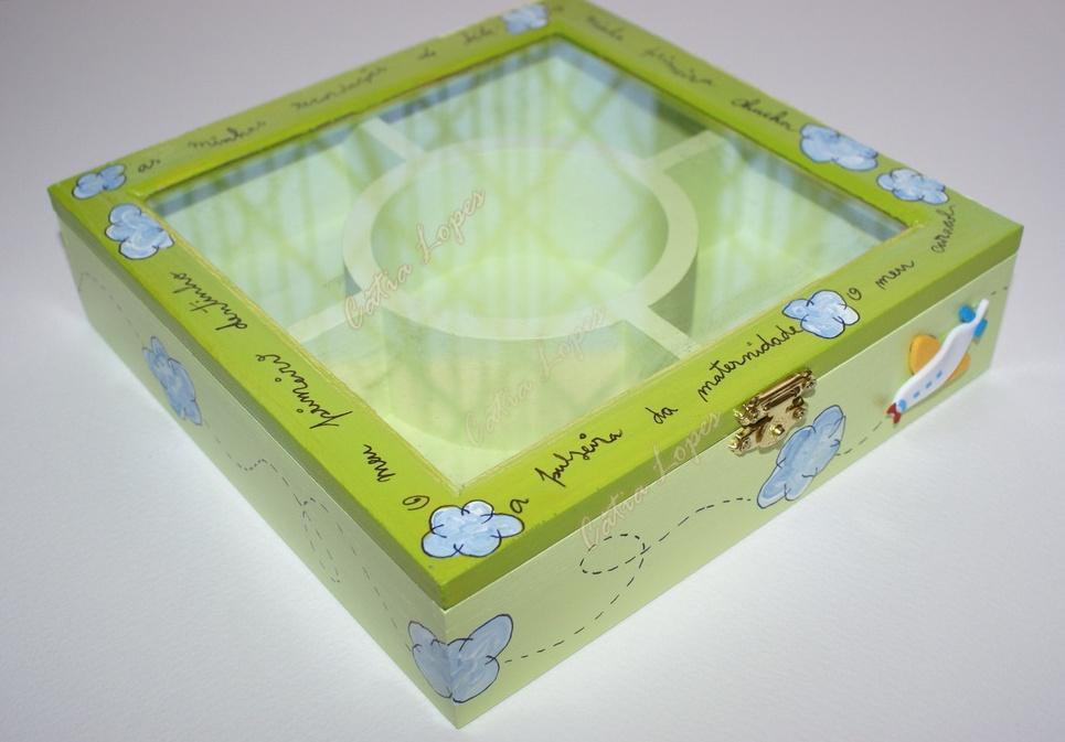 (Acessórios de Noivas) = caixa baby 9 - frente