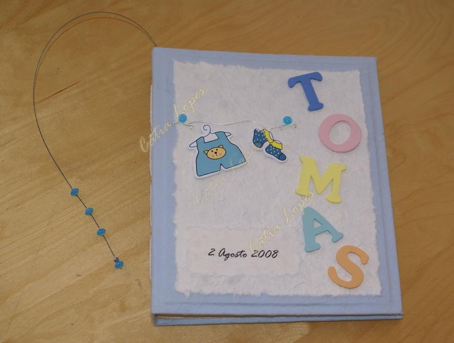 (Acessórios de Noivas) = livro bebé - modelo 14