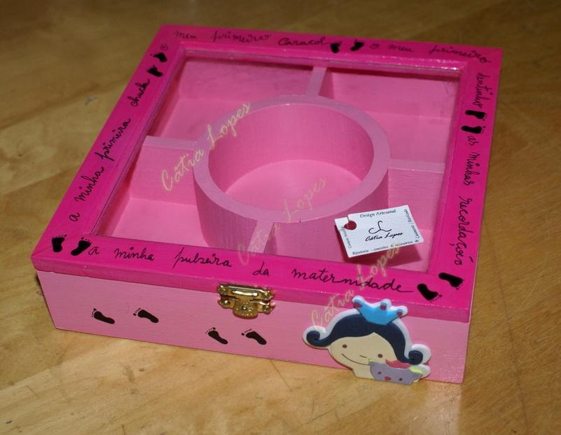 (Acessórios de Noivas) = caixa baby 13 - frente