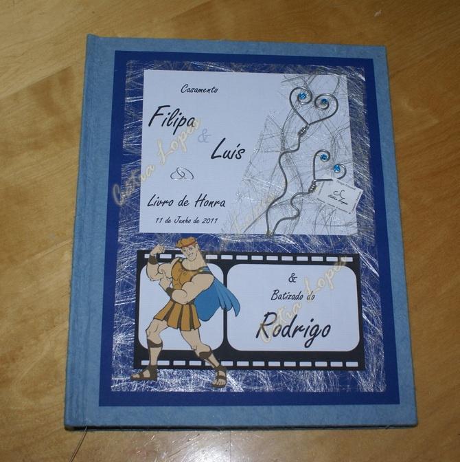 (Acessórios de Noivas) = livro bebé - modelo 10