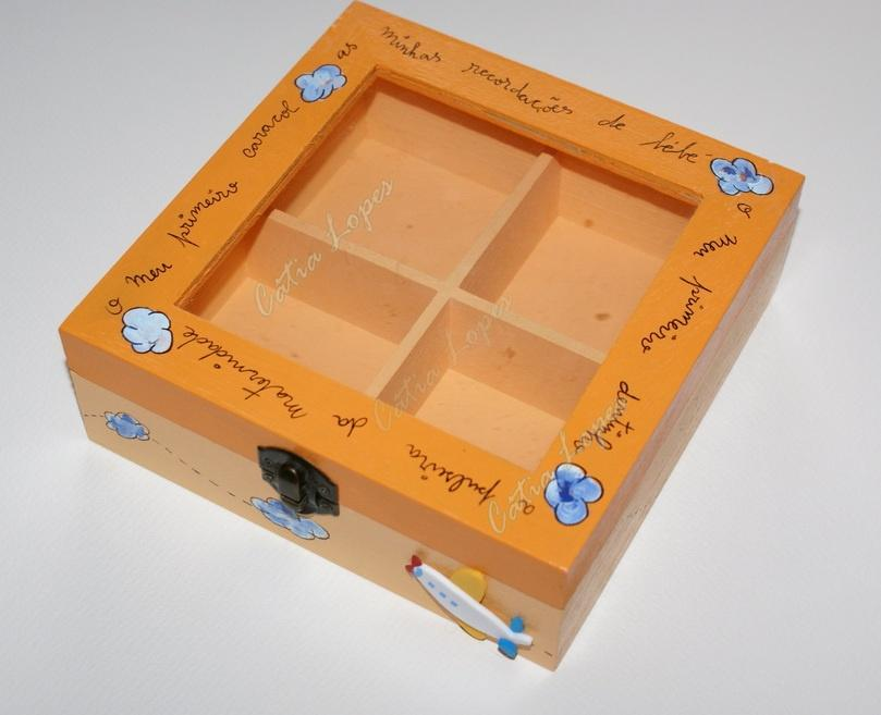 (Acessórios de Noivas) = caixa baby 3 - frente