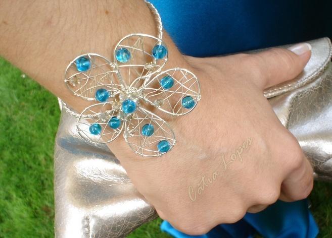 pulseira ADRIANA azul