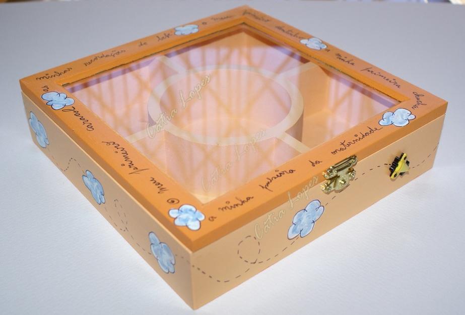 (Acessórios de Noivas) = caixa baby 8 - frente