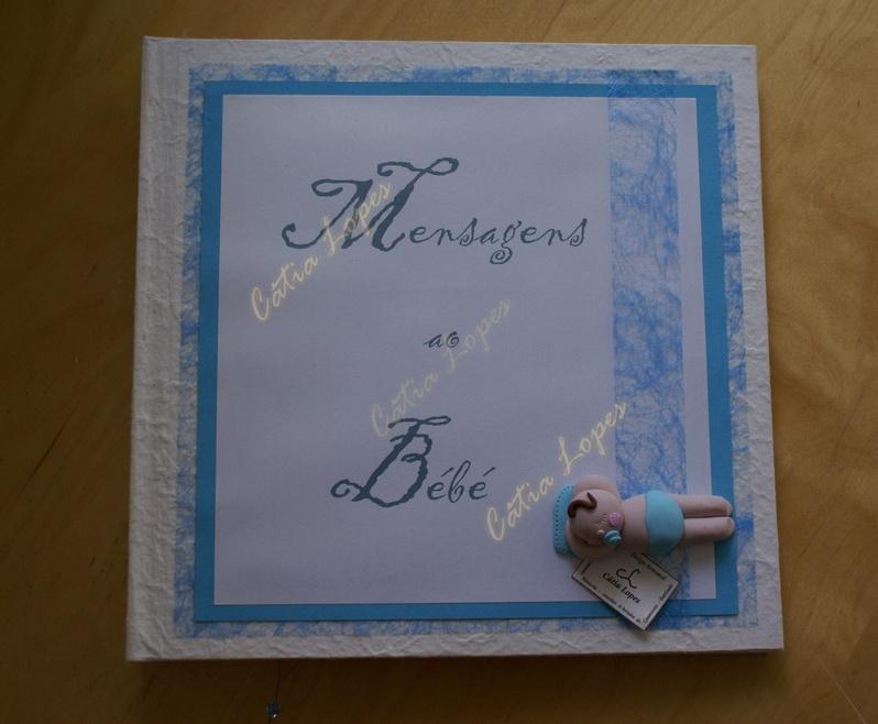 (Acessórios de Noivas) = livro bebé - modelo 19