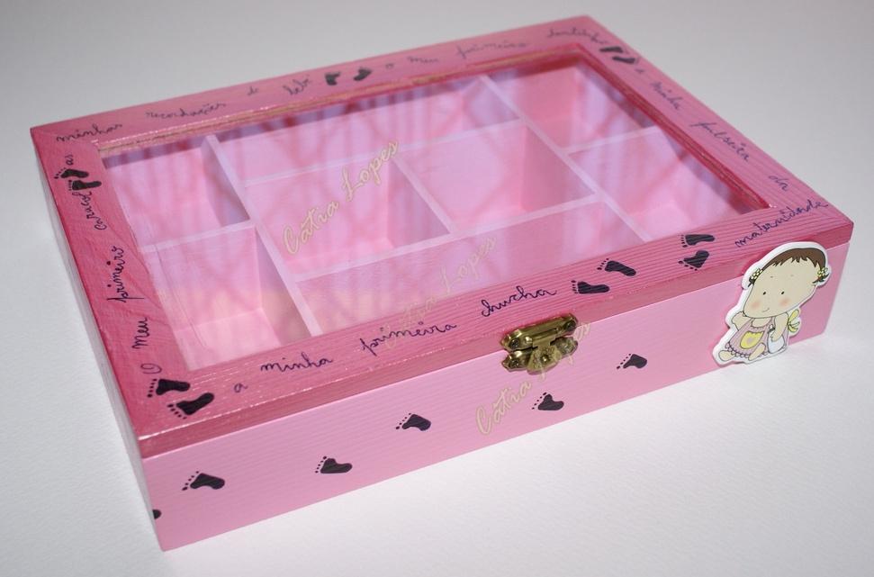 (Acessórios de Noivas) = caixa baby 4 - frente