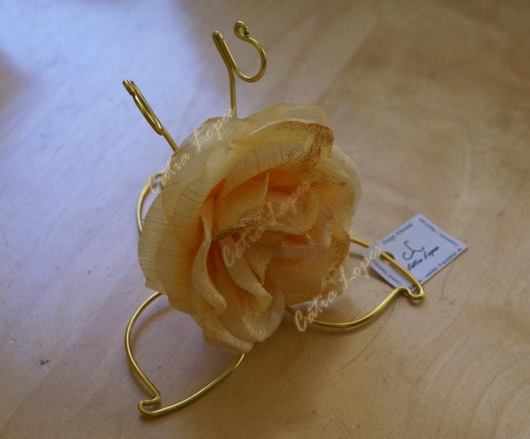 (Acessorios de Noivas) = PA - flor de mesa