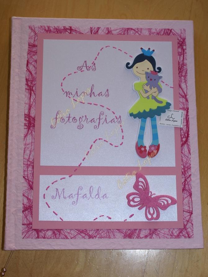 (Acessórios de Noivas) = livro bebé - modelo 17 (mafalda)