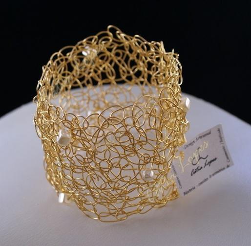pulseira ALEXANDRA dourada