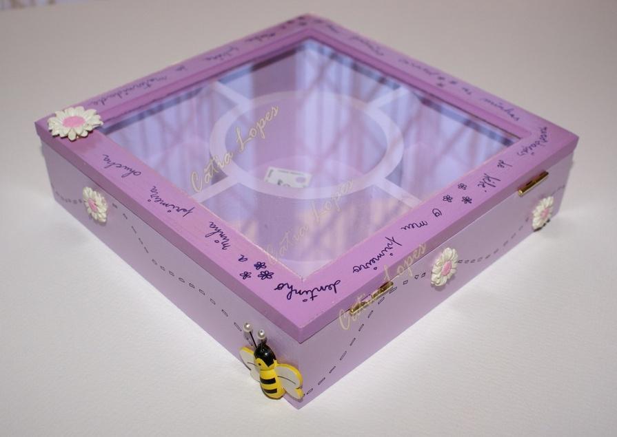 (Acessórios de Noivas) = caixa baby 12 - costas