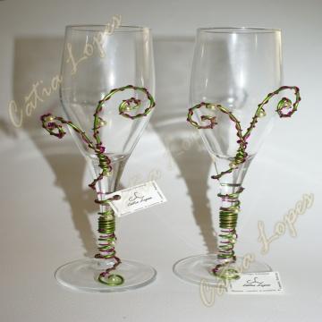 (Acessorios de noivas) = copos dec7 - modelo 2