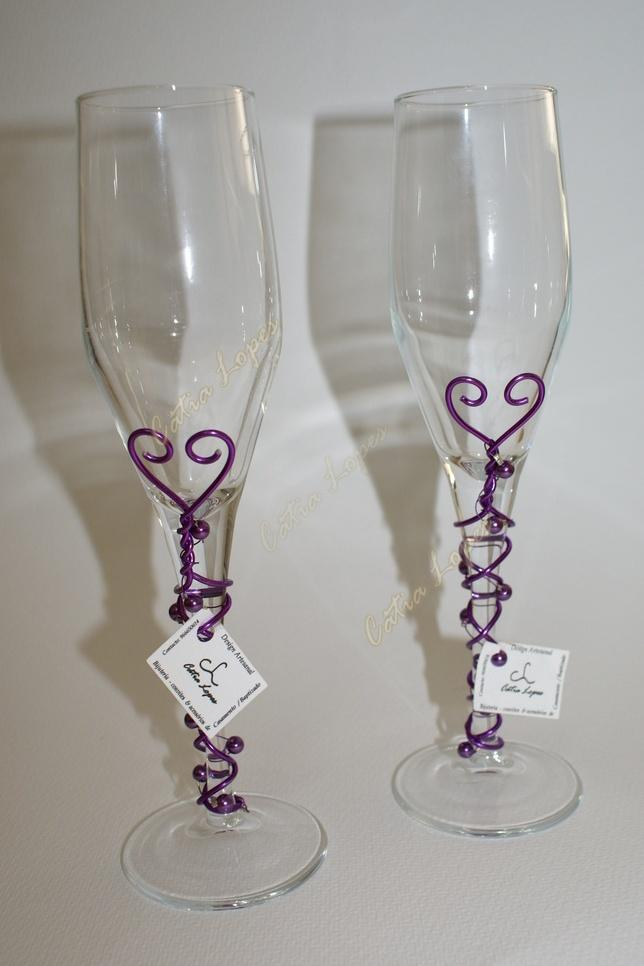 (Acessorios de noivas) = copos dec1 - modelo 9