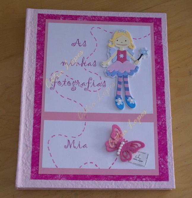 (Acessórios de Noivas) = livro bebé - modelo 17 (mia)