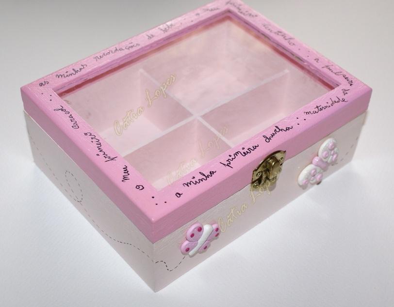 (Acessórios de Noivas) = caixa baby 2 - frente