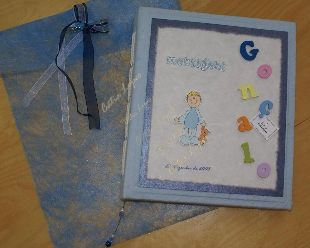 (Acessórios de Noivas) = livro bebé - modelo 11