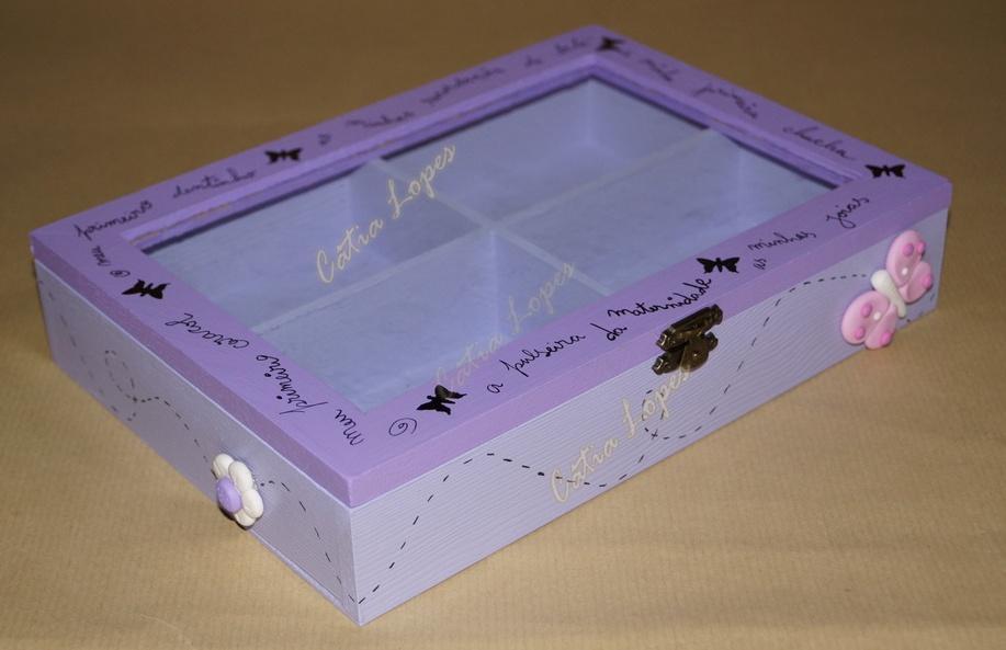(Acessórios de Noivas) = caixa baby 14 - frente