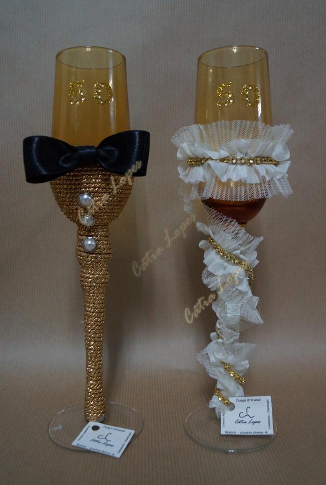 (Acessorios de Noivas) = copos decorados 39