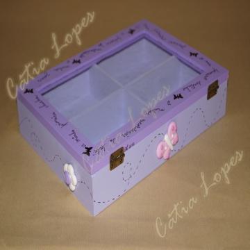 (Acessórios de Noivas) = caixa baby 14 - costas