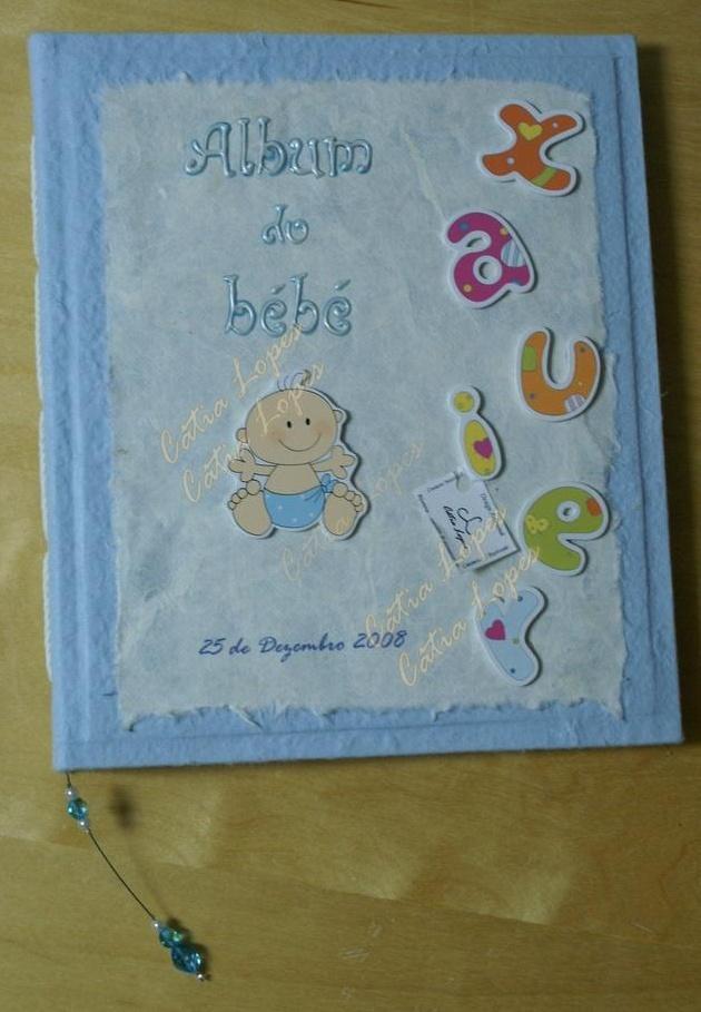 (Acessórios de Noivas) = livro bebé - modelo 15