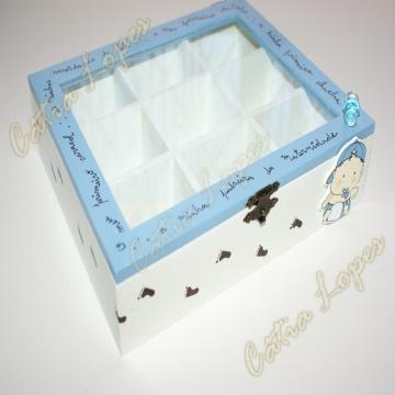 (Acessórios de Noivas) = caixa baby 7 - frente