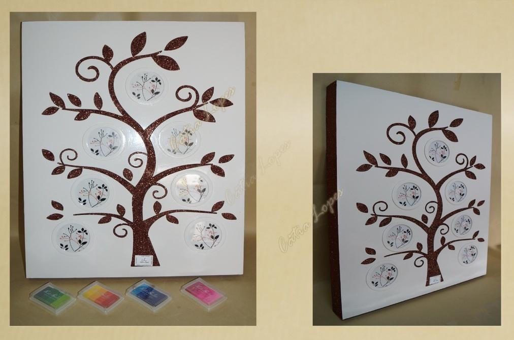 moldura-quadro Árvore Digital