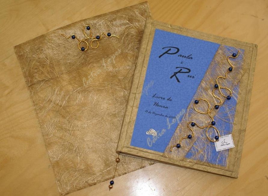 Livro Honra - Paula & Rui