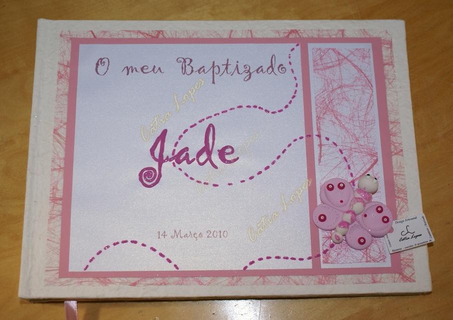 (Acessórios de Noivas) = livro bebé - modelo 12