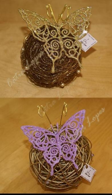 (Acessorios de Noivas) = PA - bola borboleta