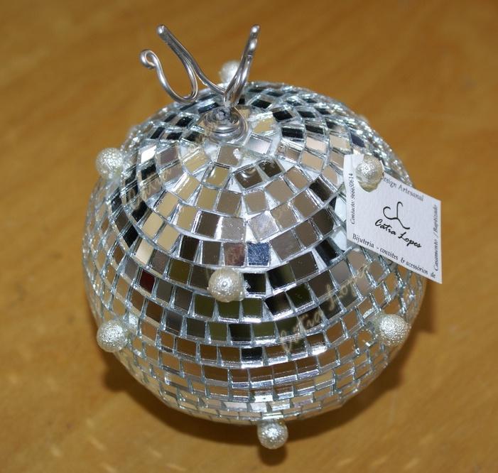 (Acessórios de Noivas) = PA - bola de espelhos